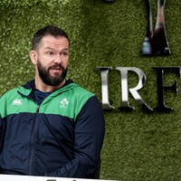 Farrell: Door still open for Kearney, or any in-form player, to feature in Six Nations
