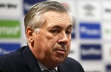 New Everton boss Ancelotti aims to build upon 'fantastic job' by Ferguson