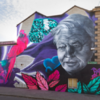'Blatant disrespect': David Attenborough mural vandalised with 'climate hoax' graffiti