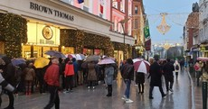 Brown Thomas the main attraction on Grafton Street as early risers hit the Stephen's Day sales