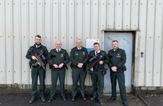 PSNI chief criticised for posing beside officers armed with machine guns for 'Christmas message' from Crossmaglen