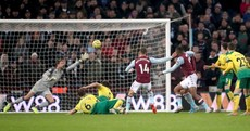 Conor Hourihane grabs winner to boost relegation-threatened Aston Villa