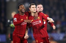 Imperious Liverpool beat Leicester to take big step towards Premier League title