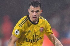 Granit Xhaka agrees to leave Arsenal