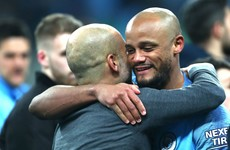 Guardiola: I tried to convince Kompany to stay