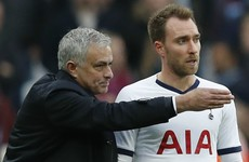 'I know his future' - Mourinho on Eriksen