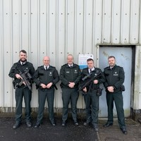 'This is the stark reality': PSNI chief defends use of machine guns in Christmas Day tribute photo