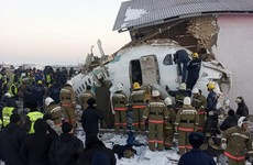 Kazakhstan plane crash: At least 12 people dead and 53 injured, including children
