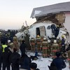Kazakhstan plane crash: At least 12 people dead and 53 injured, including children