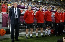 Smells like team spirit says happy Hodgson