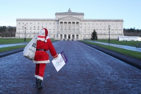 Pre-Christmas talks to restore Stormont have so far failed to yield results.