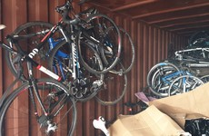 €250,000 worth of stolen bikes seized at allotment in Dublin