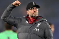 Klopp: Liverpool's Premier League lead is irrelevant