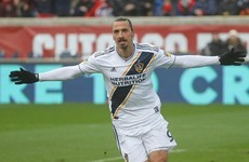 Zlatan Ibrahimovic makes AC Milan return at 38