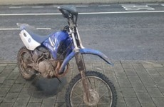 Gardaí examining footage of child who was thrown from scrambler bike