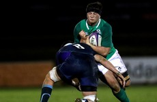Ireland U20 side named for clash with Munster as they build up to Six Nations