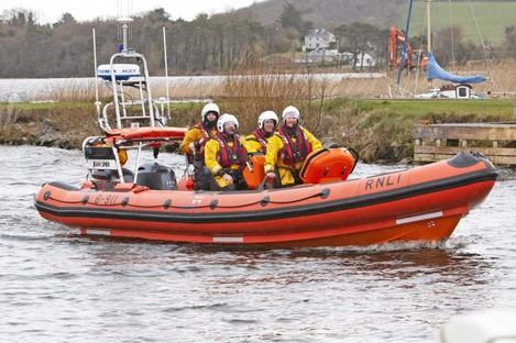 File photo of Lough Derg RNLI