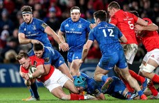 Leinster's winning streak rumbles on thanks to dominant defence against Munster