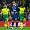 Frustration for Mourinho, as Tottenham held by relegation-threatened Norwich