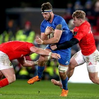 Munster left bruised after brush with Leinster