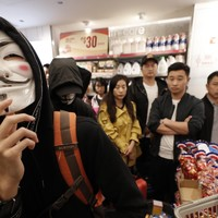 Hong Kong police arrest 15 people after shopping centre protest