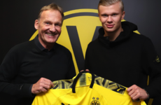 Borussia Dortmund win the race to sign teen sensation Haaland