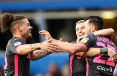 Leeds go top of Championship after nine-goal thriller at Birmingham