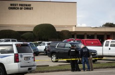 Two dead in Texas shooting after gunman opens fire in church