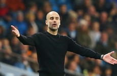 Guardiola already looking towards next season's Premier League title race