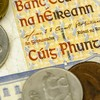 More than €800,000 worth of old Irish pounds redeemed in 2019