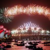 Sydney rings in New Year with fireworks display as bushfires continue to devastate communities