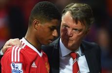 Rashford praises Van Gaal for playing key role in his rise at Man Utd