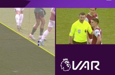 More VAR controversy as Villa win to climb out of relegation zone
