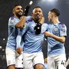 Jesus on the double as Man City bounce back against Everton