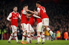 Arsenal punish drab Man United to give new boss Arteta his first win