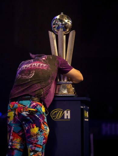 Snakebite! Wright crowned world champion with Ally Pally upset against van Gerwen