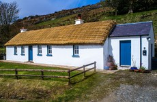 Donegal cottage with sea views and a thatched roof for €275k