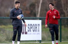 Starts for Carbery, Murray and O'Mahony among 10 changes for Munster