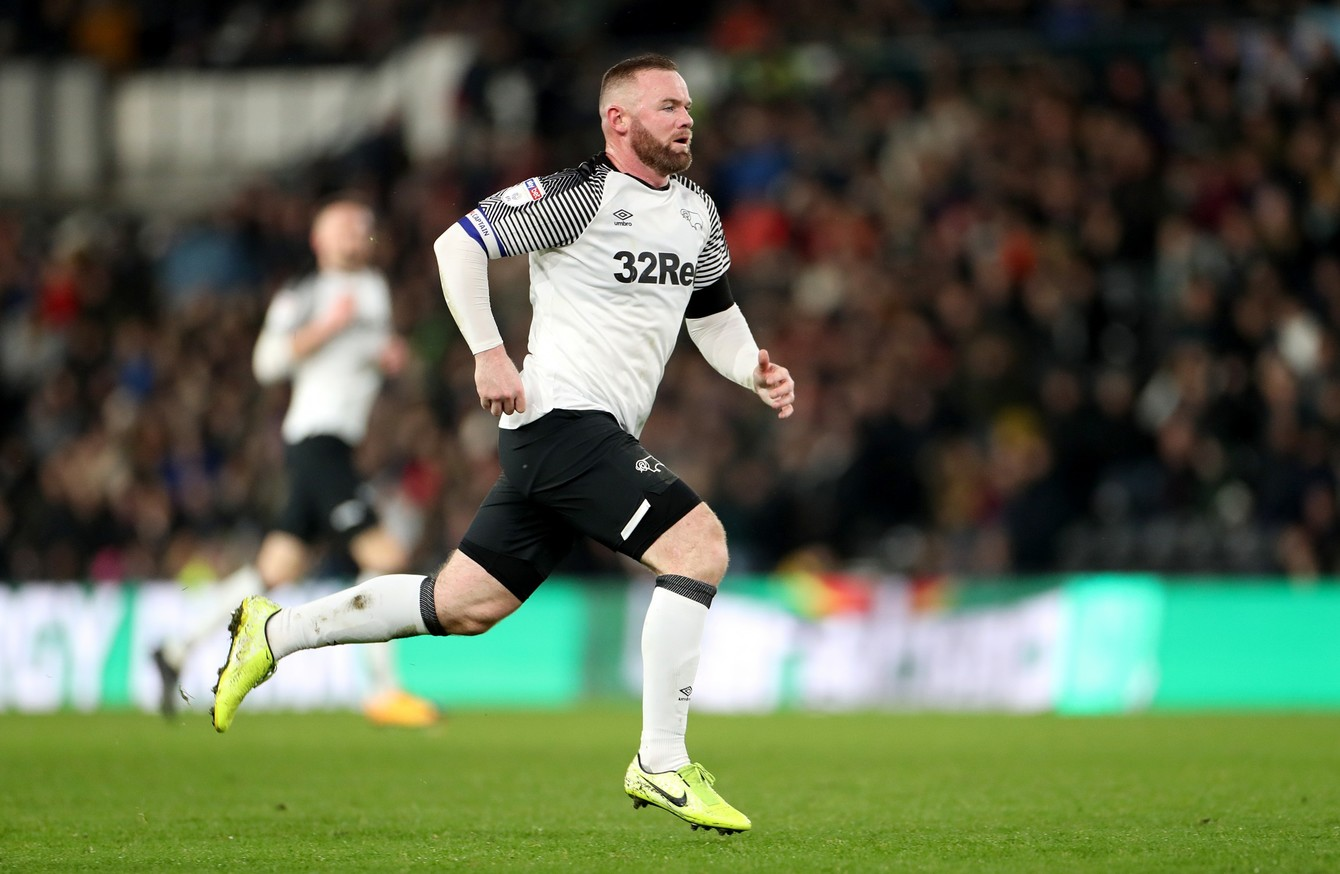Winning Start As Wayne Rooney Captains Derby County To Hard Fought Debut Win