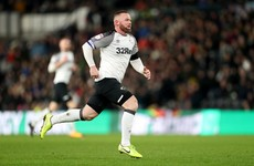 Winning start as Wayne Rooney captains Derby County to hard-fought debut win