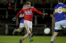 Hurley bags hat-trick as Cork defeat Tipperary to reach McGrath Cup final