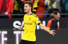 Portuguese league leaders complete signing of Dortmund midfielder for €20 million