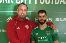 'A clean slate' - Cork City complete signing of former Reading striker from Derry