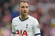 Mourinho admits Eriksen could leave Tottenham in January