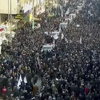 Iraq's prime minister joins mourners in Baghdad for funeral of top Iranian general killed by US