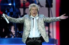 Rod Stewart charged after allegedly punching hotel security guard in Florida