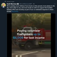 'A new low': Australian PM Morrison facing criticism for wildfire campaign video