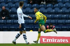 Watch: Ireland teenager Idah scores hat-trick for Norwich in the FA Cup