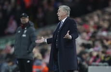 Ancelotti: 'I'm not used to speaking to players after the game but I'm going to speak to them about this'