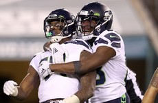 Seahawks power past Eagles in NFL playoffs